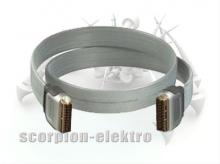 Belkin kabel video Scart plochý - 1,2 m - řada Silver