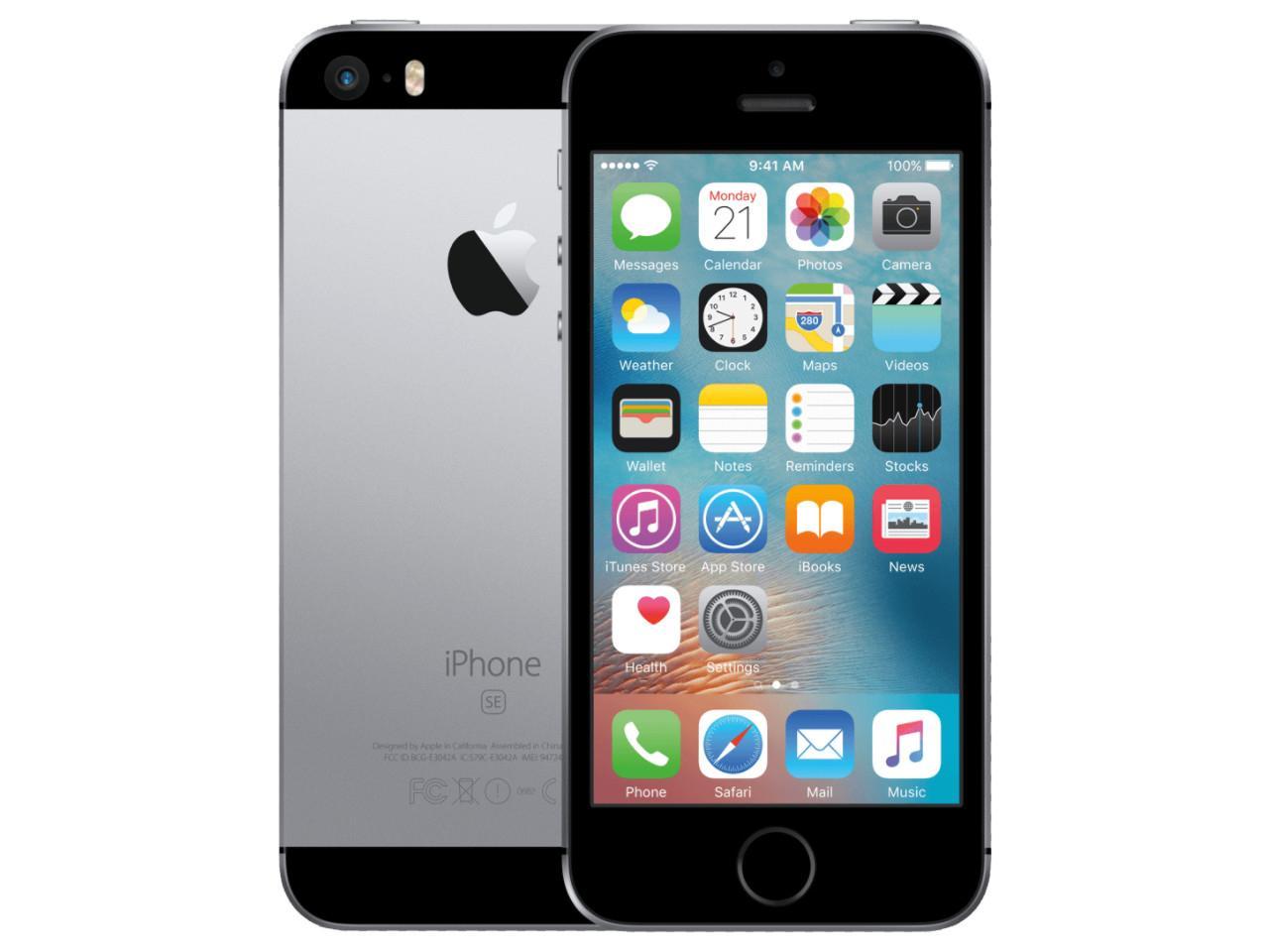 APPLE iPhone SE, 16 GB, šedý