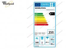 WHIRLPOOL FWSG61253W EU