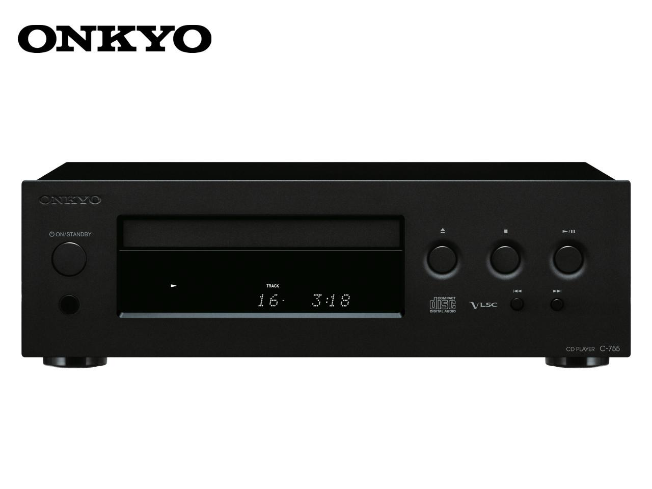 ONKYO C-755 B + 400 Kč na dárky nebo další nákup | CHAT on-line podpora PO-PÁ 8-22.00!!