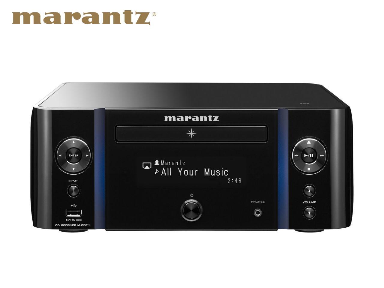 MARANTZ M-CR611 B + 500 Kč na dárky nebo další nákup | CHAT on-line podpora PO-PÁ 8-22.00!!