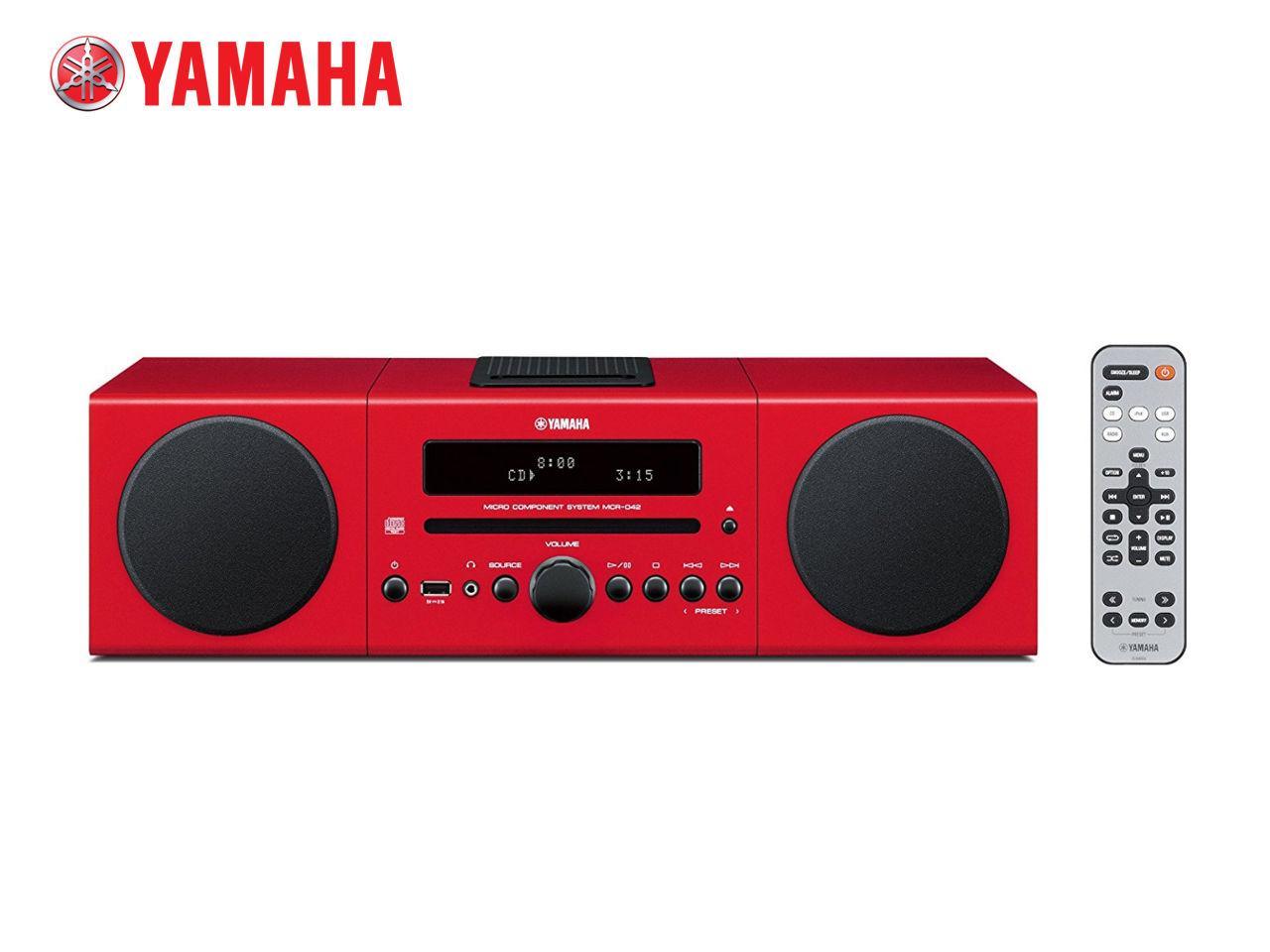 YAMAHA MCR-042 R + 200 Kč na dárky nebo další nákup | CHAT on-line podpora PO-PÁ 8-22.00!!