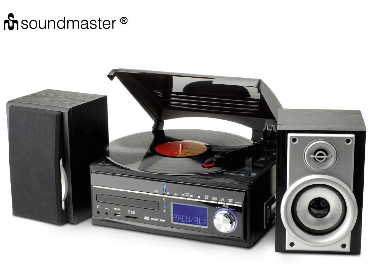SOUNDMASTER MCD1700 BS + 100 Kč na dárky nebo další nákup   CHAT on-line podpora PO-PÁ 8-22.00!!