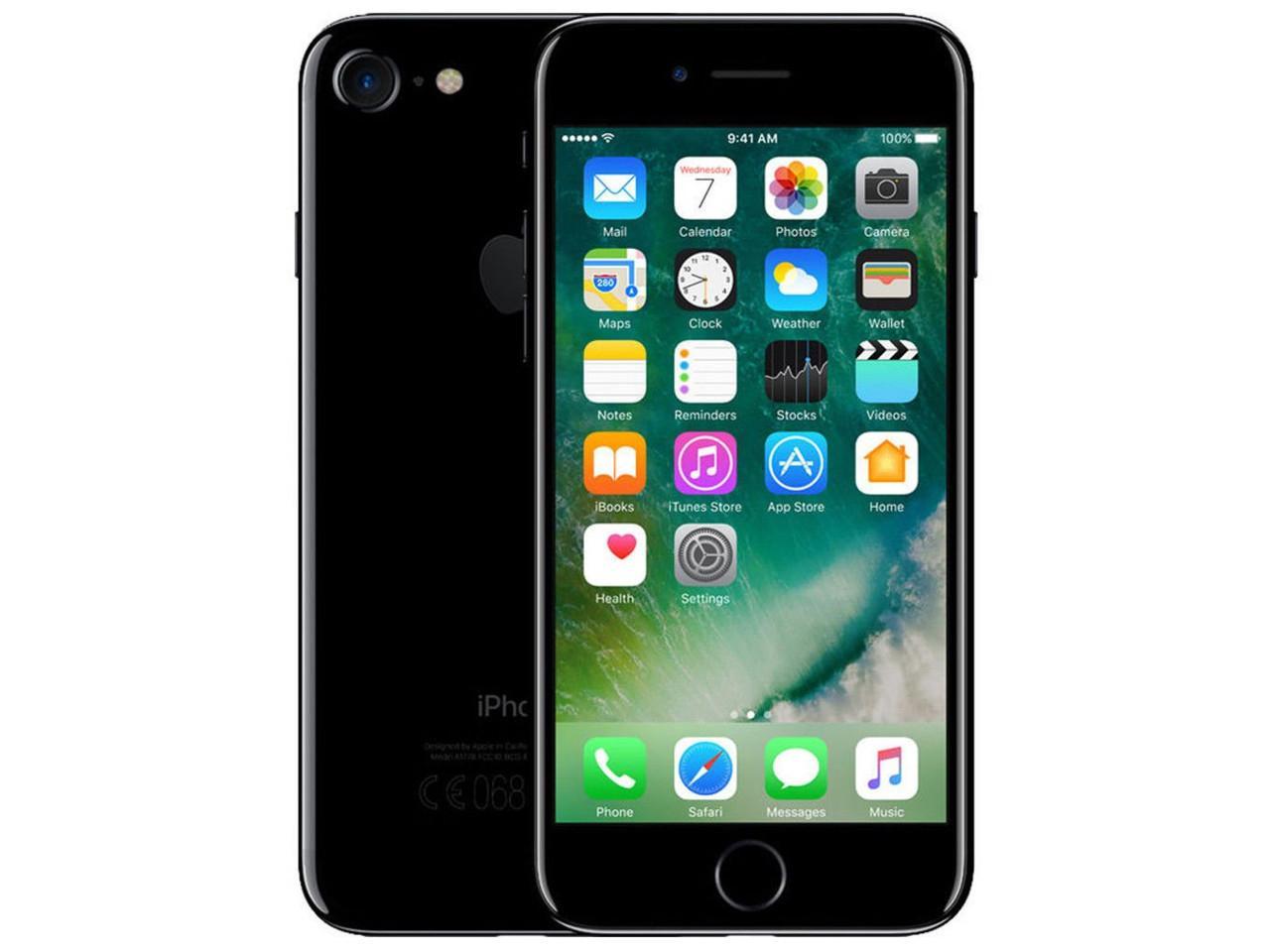 APPLE iPhone 7, 256 GB, temně černý, bulk balení + 700 Kč na dárky nebo další nákup   CHAT on-line podpora PO-PÁ 8-22.00!!
