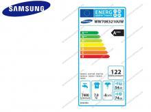 SAMSUNG WW70K5210UW/LE