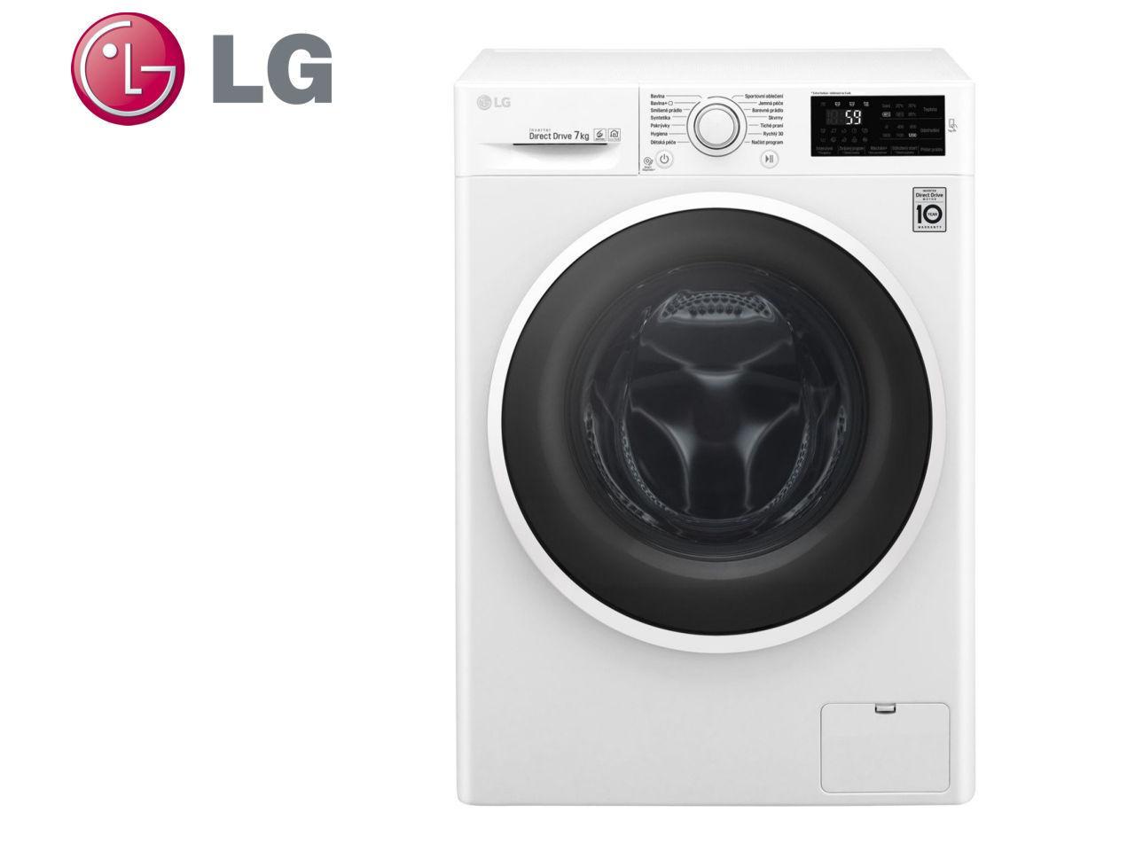 LG F72J6QN0W + 400 Kč na dárky nebo další nákup | CHAT on-line podpora PO-PÁ 8-22.00!!