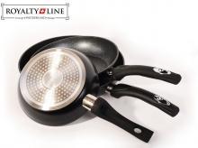 ROYALTY LINE RL-FM3 BLACK, 20+24+26 cm