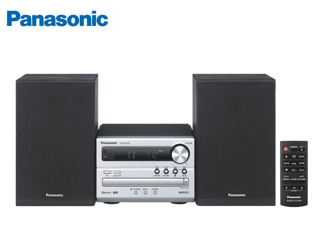 PANASONIC SC-PM250EC-S + 100 Kč na dárky nebo další nákup | CHAT on-line podpora PO-PÁ 8-22.00!!