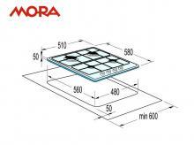 MORA VDP 645 W