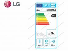 LG GSL760PZUZ + 10 let záruka na kompresor!