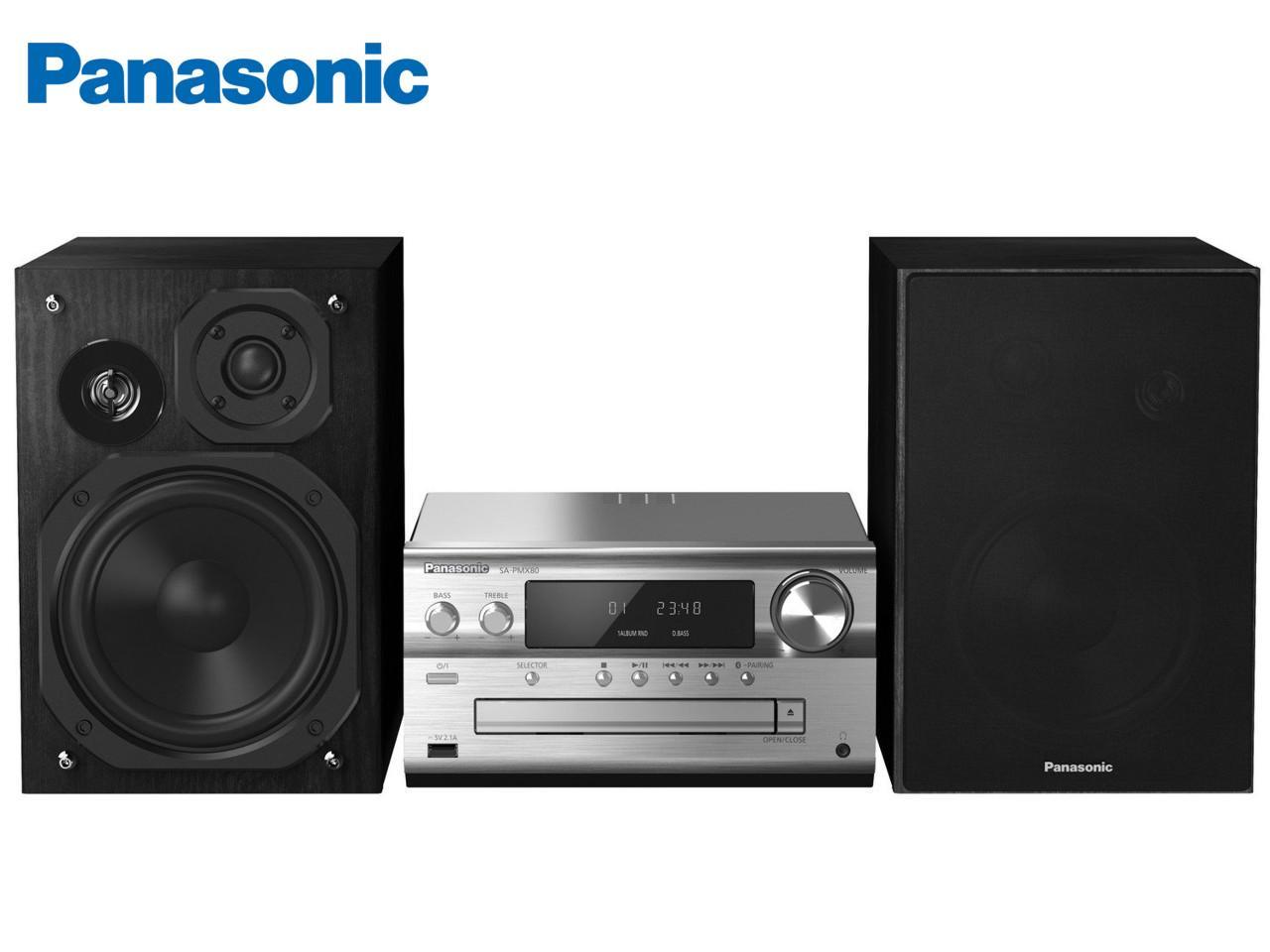 PANASONIC SC-PMX80EG-S + 200 Kč na dárky nebo další nákup | CHAT on-line podpora PO-PÁ 8-22.00!!