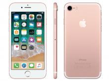 APPLE iPhone 7, 128 GB, růžově zlatý
