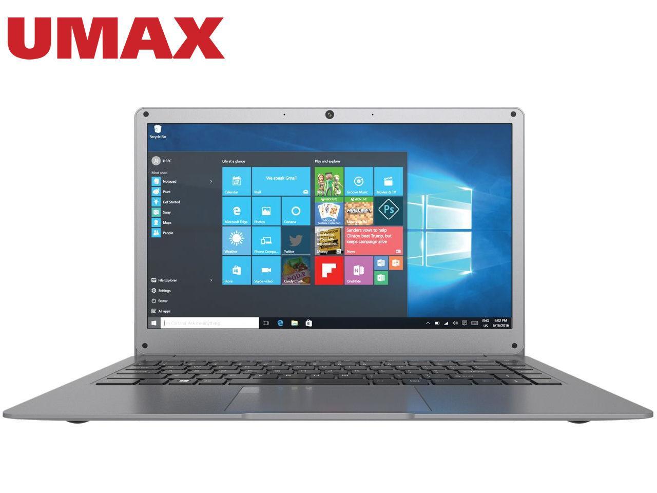 UMAX VisionBook 14Wg Plus (UMM23014G) + 200 Kč na dárky nebo další nákup   CHAT on-line podpora PO-PÁ 8-22.00!!