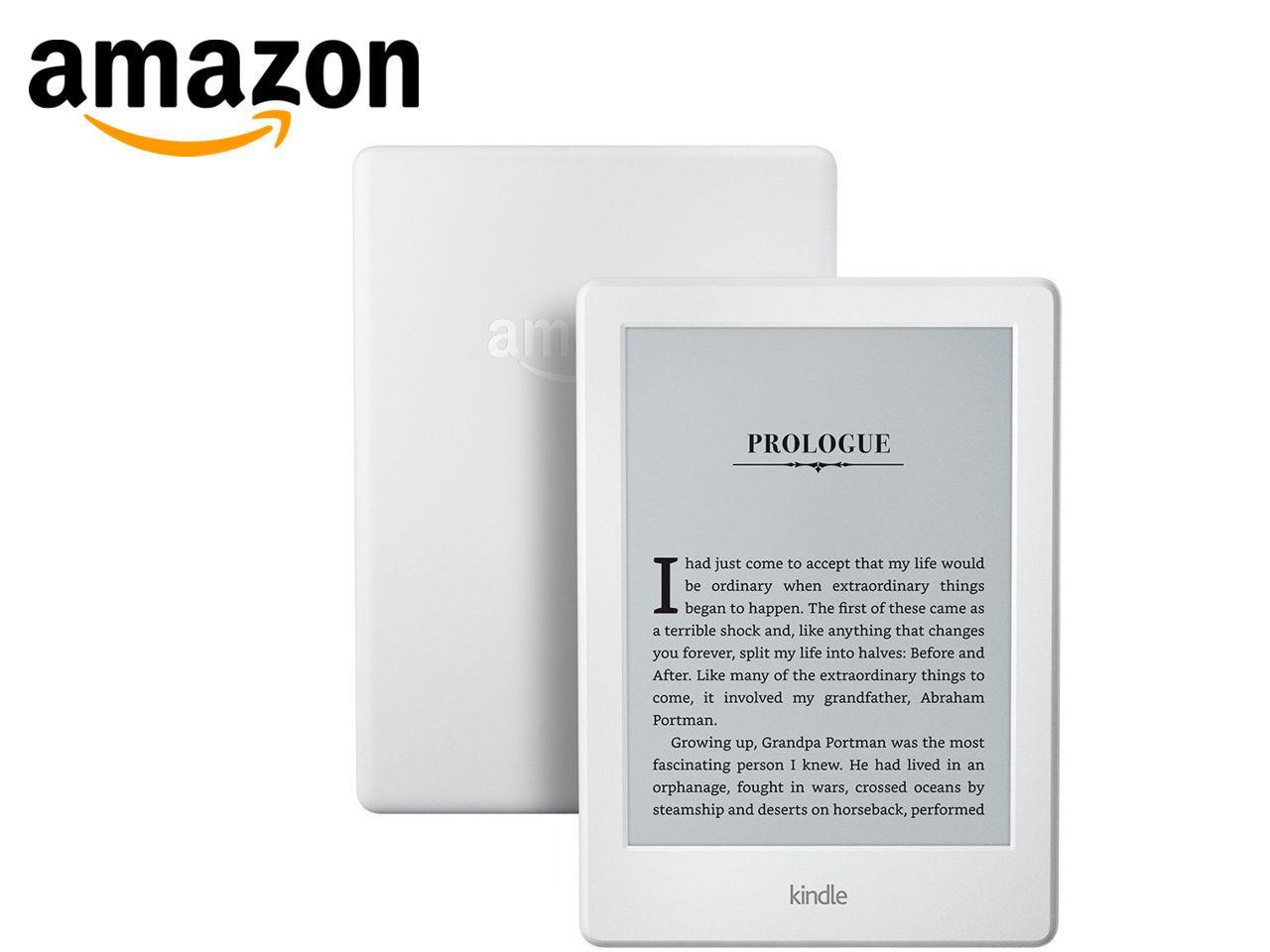 AMAZON Kindle 8 Touch Wi-Fi, bílá, sponzorovaná verze