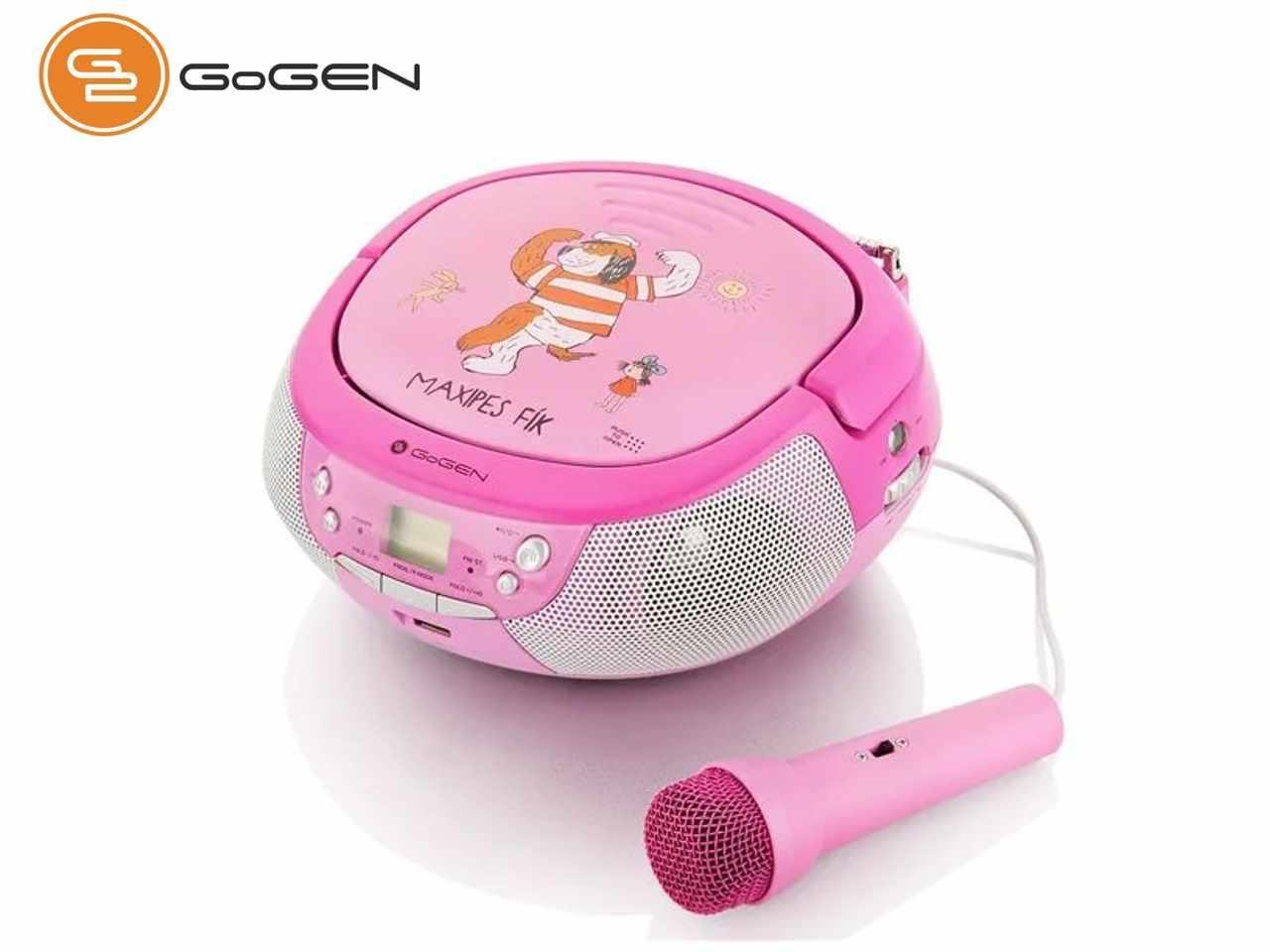 GoGEN Maxi Přehrávač, růžový