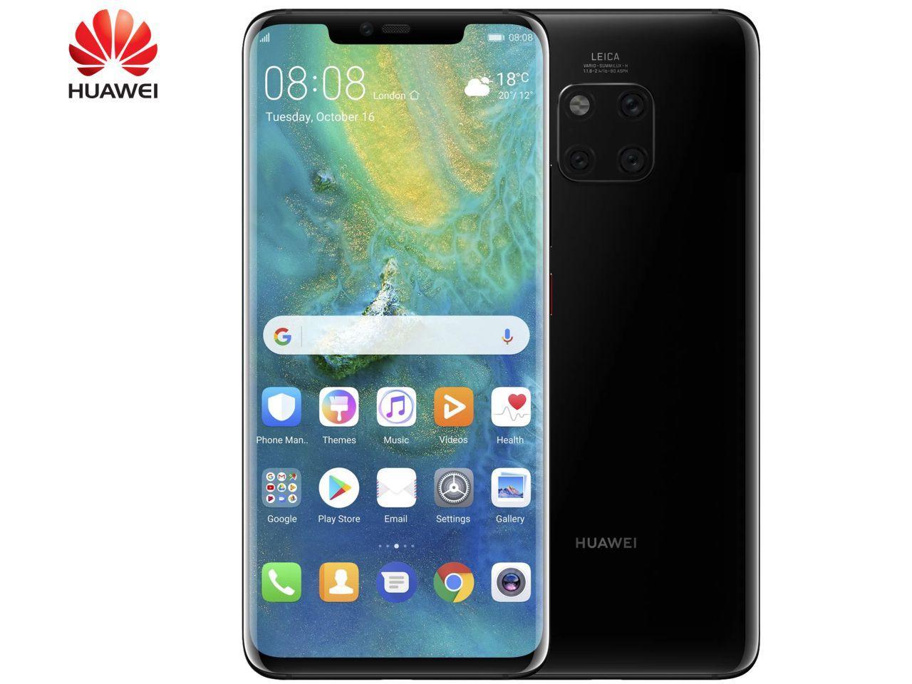 HUAWEI Mate 20 Pro, 6GB/128GB, černý, Dual SIM, CZ distribuce