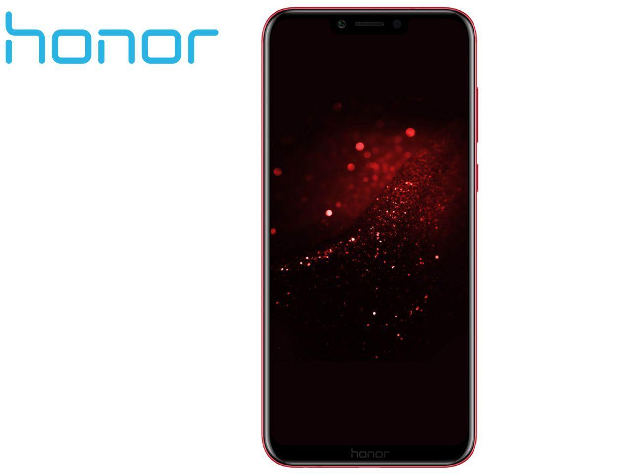 HONOR Play, 4GB/64 GB, červený, Dual SIM, CZ distribuce