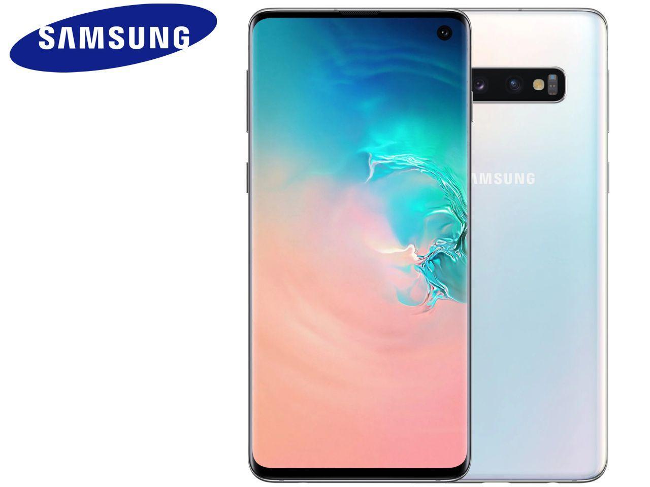 SAMSUNG Galaxy S10 (SM-G973F), 128 GB, bílý, Dual SIM, CZ distribuce