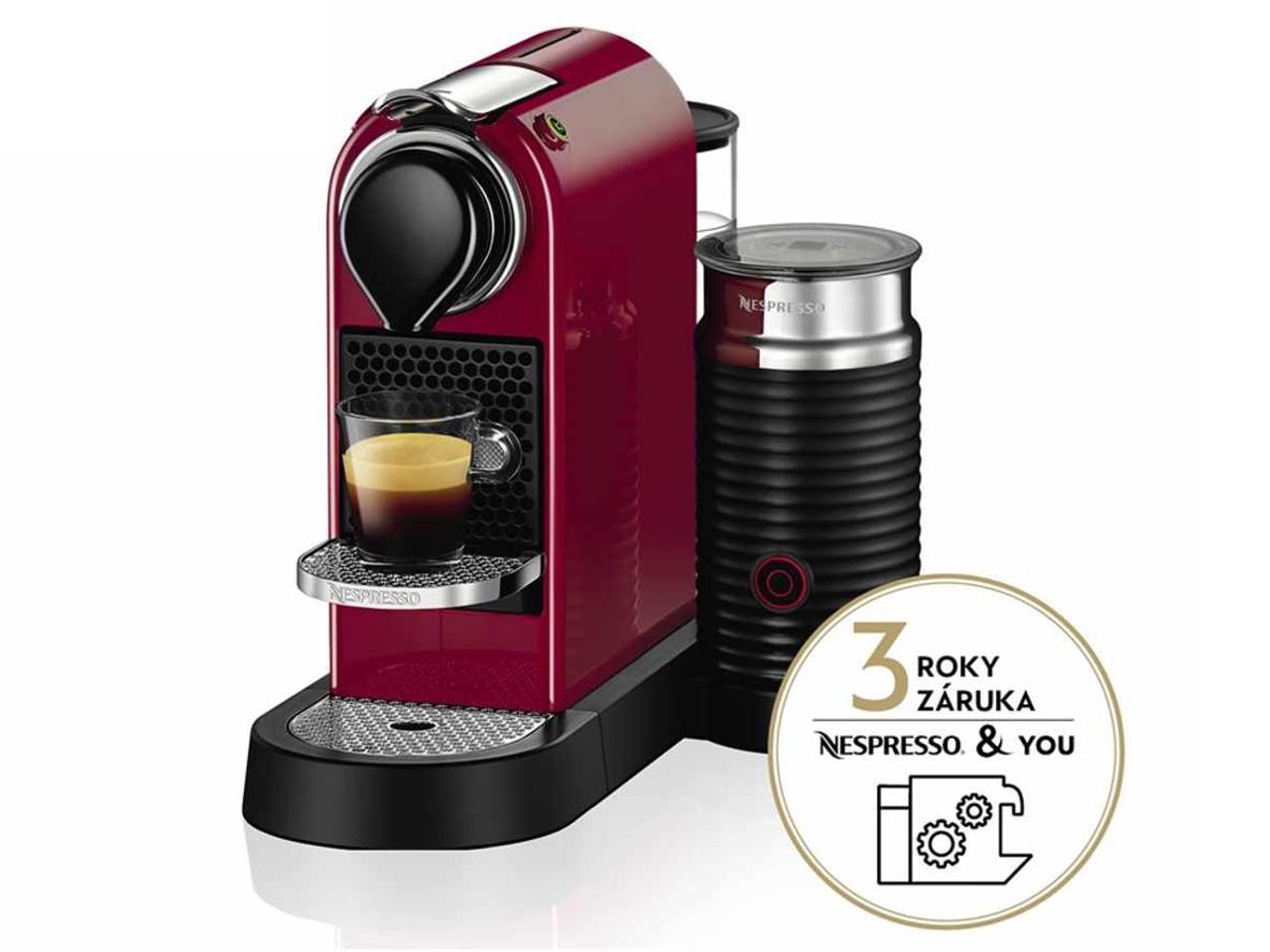 KRUPS XN760510 Nespresso Citiz&Milk + 200 Kč na dárky nebo další nákup | CHAT on-line podpora PO-PÁ 8-22.00!!