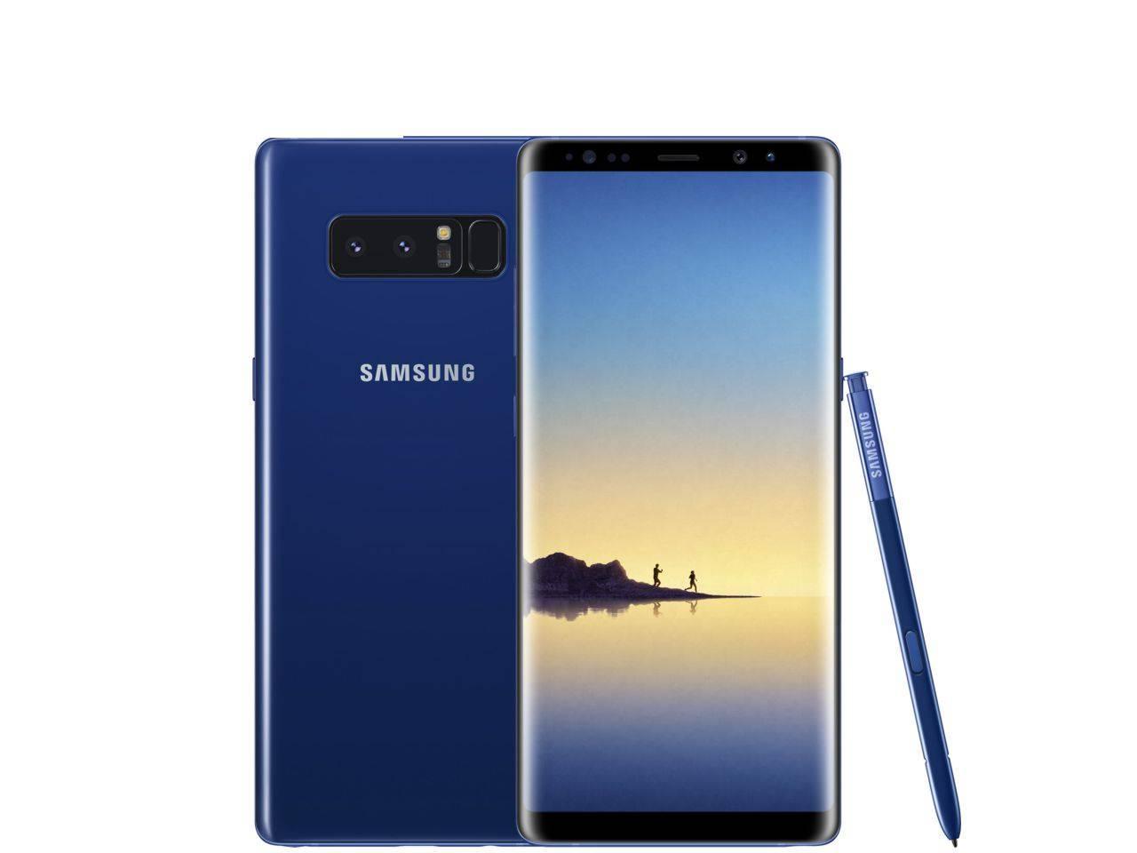 SAMSUNG Galaxy Note 8 (SM-N950F), 64 GB, modrý, Dual SIM, CZ distribuce + 700 Kč na dárky nebo další nákup   CHAT on-line podpora PO-PÁ 8-22.00!!