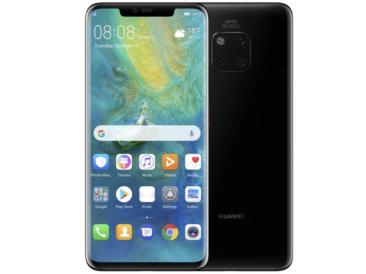 HUAWEI Mate 20 Pro, 6GB/128GB, černý, Dual SIM, CZ distribuce + 700 Kč na dárky nebo další nákup   CHAT on-line podpora PO-PÁ 8-22.00!!