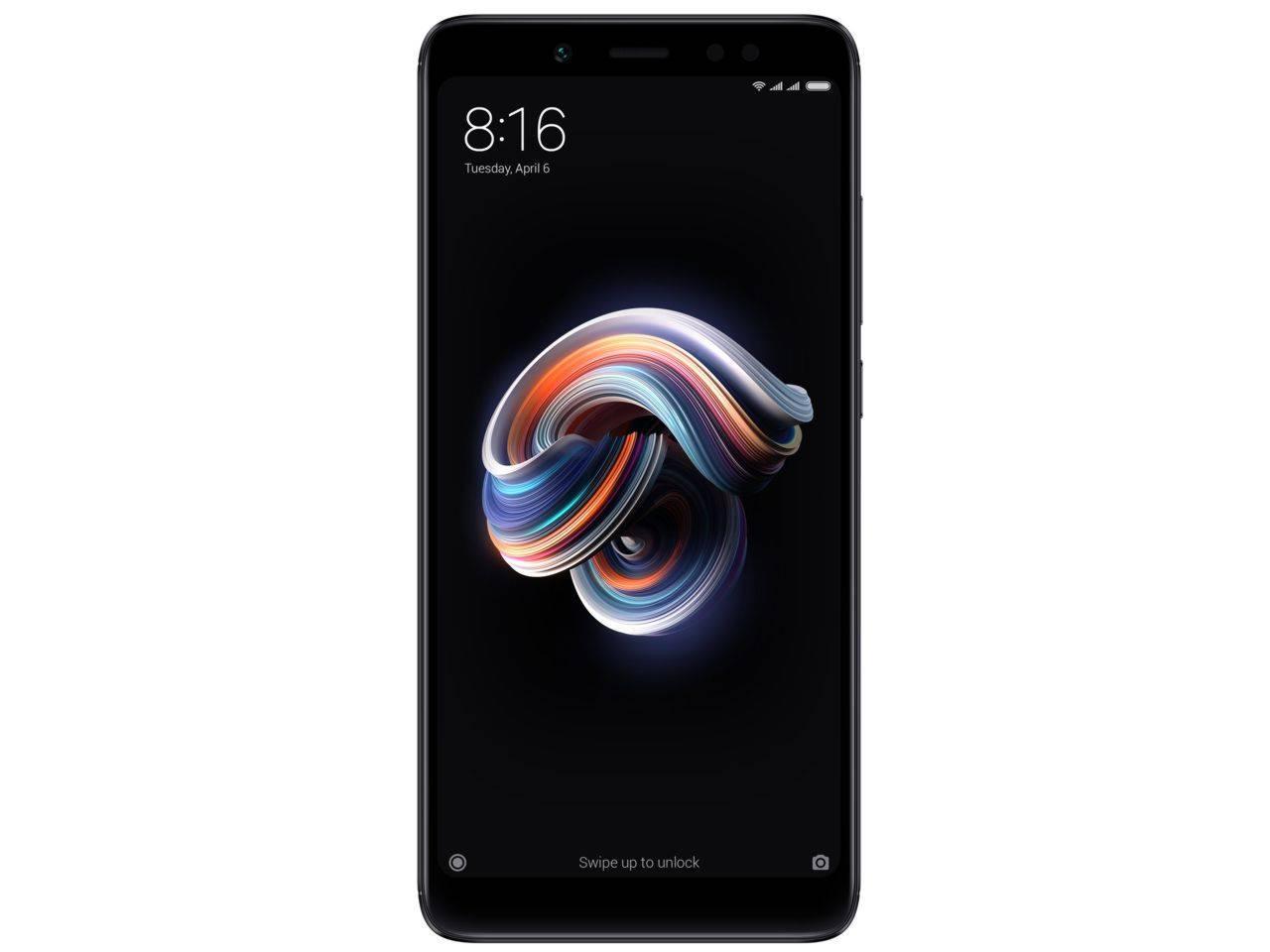 XIAOMI Redmi Note 5, 4GB/64GB, černý, Dual SIM, CZ distribuce + 100 Kč na dárky nebo další nákup | CHAT on-line podpora PO-PÁ 8-22.00!!