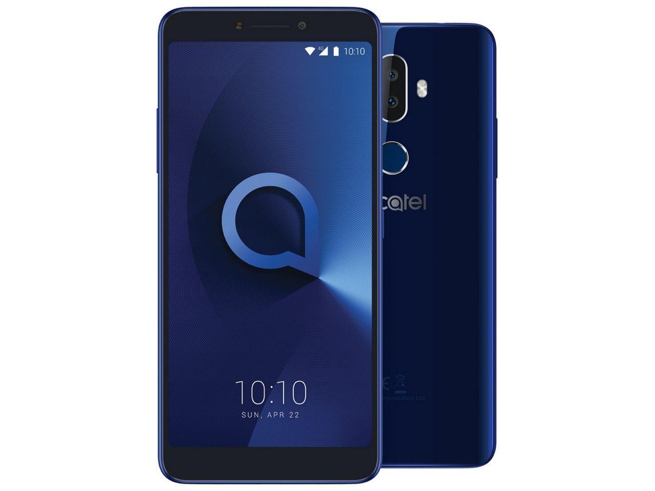 ALCATEL 3V, 16GB, Dual SIM, modrý, CZ distribuce
