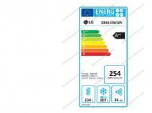 Chladnička LG GBB61SWJZN + 10 let záruka na kompresor!