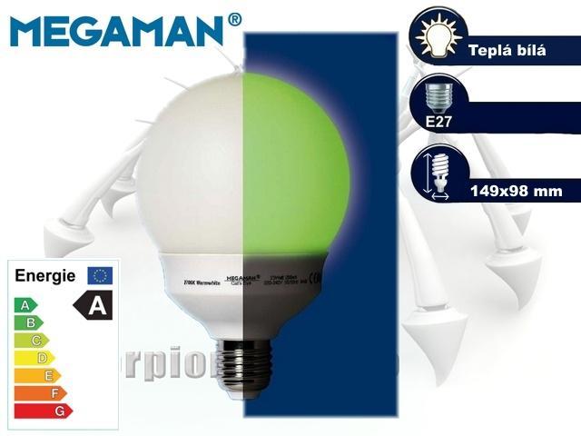 MEGAMAN Cat's Eye 23W, E27 | CHAT on-line podpora PO-PÁ 8-22.00!!