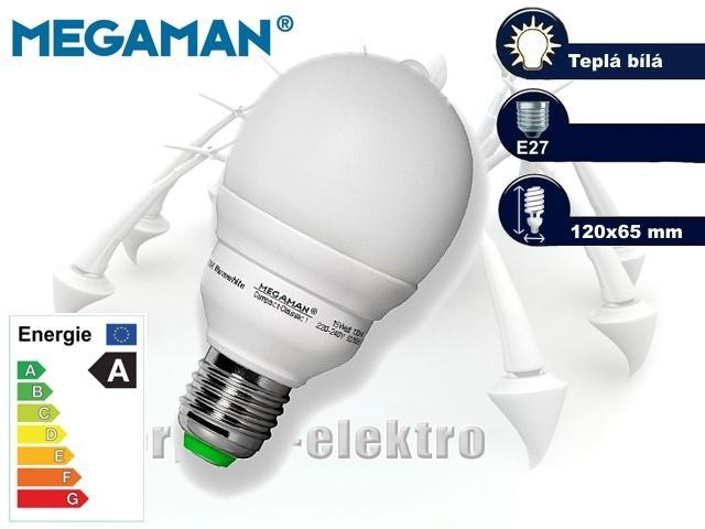 MEGAMAN Compact Classic 15W, E27 | CHAT on-line podpora PO-PÁ 8-22.00!!