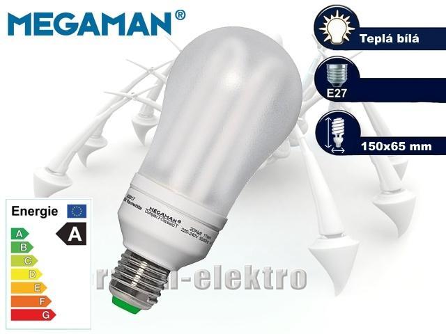 MEGAMAN Compact Classic 20W, E27 | CHAT on-line podpora PO-PÁ 8-22.00!!