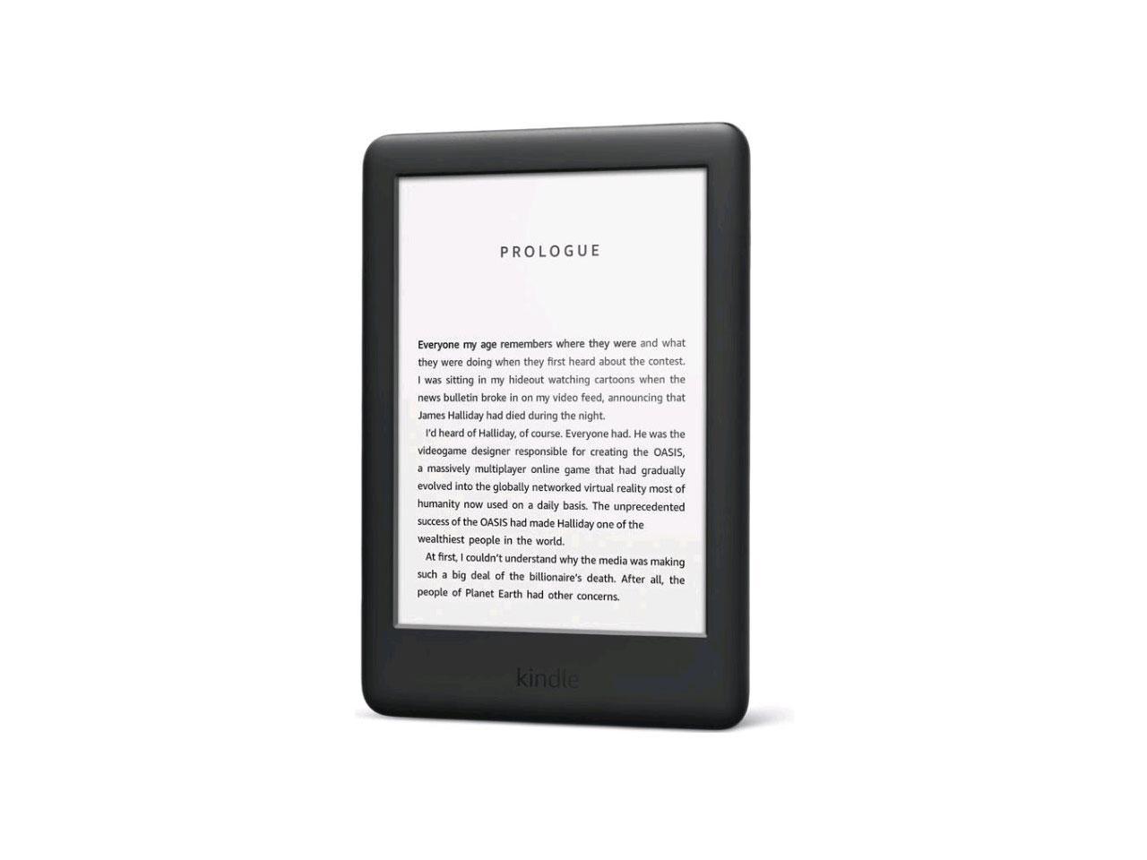 AMAZON Kindle Touch 2019, černá, sponzorovaná verze