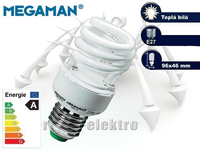 MEGAMAN Helix 11W, E27 | CHAT on-line podpora PO-PÁ 8-22.00!!