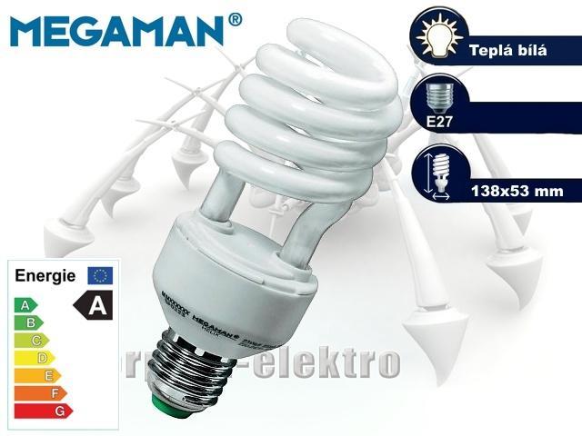 MEGAMAN Helix 23W, E27 | CHAT on-line podpora PO-PÁ 8-22.00!!