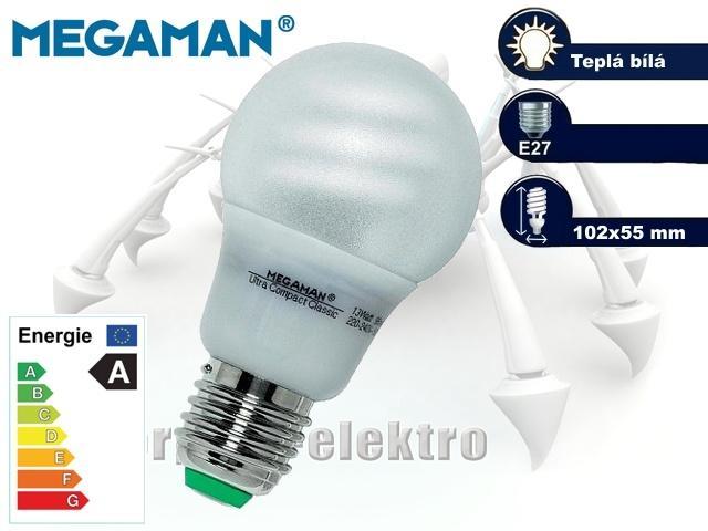 MEGAMAN Ultra Compact Classic 11W, E27 | CHAT on-line podpora PO-PÁ 8-22.00!!