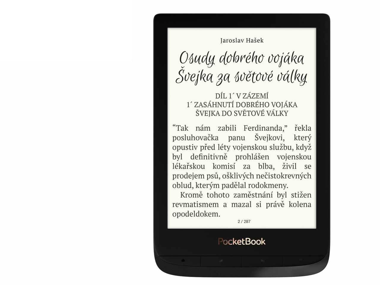 POCKETBOOK 627 Touch Lux 4 Black + 100 Kč na dárky nebo další nákup | CHAT on-line podpora PO-PÁ 8-22.00!!