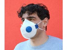 Respirátor BAMAX HY8226 s ventilem, FFP2