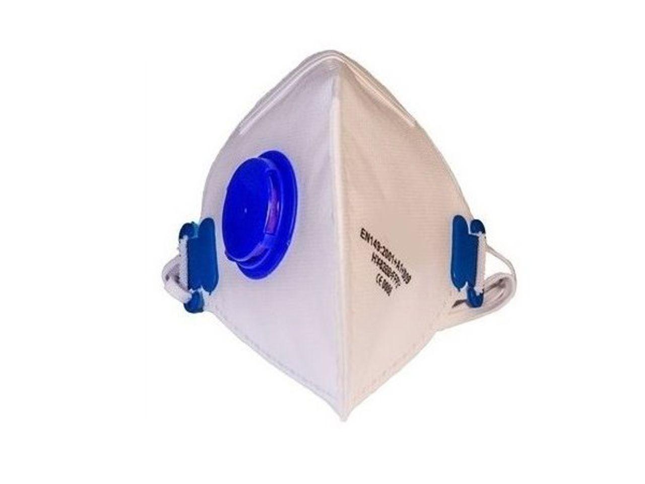 Respirátor BAMAX HY8226 s ventilem, FFP2 | CHAT on-line podpora PO-PÁ 8-22.00!!