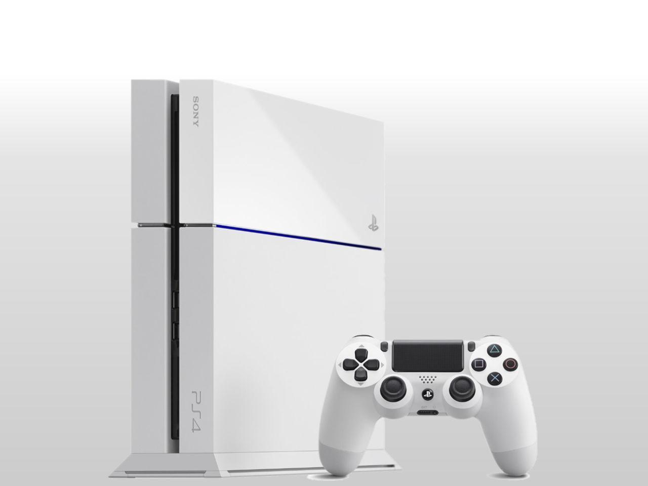 SONY Playstation 4 500GB White + 300 Kč na dárky nebo další nákup   CHAT on-line podpora PO-PÁ 8-22.00!!