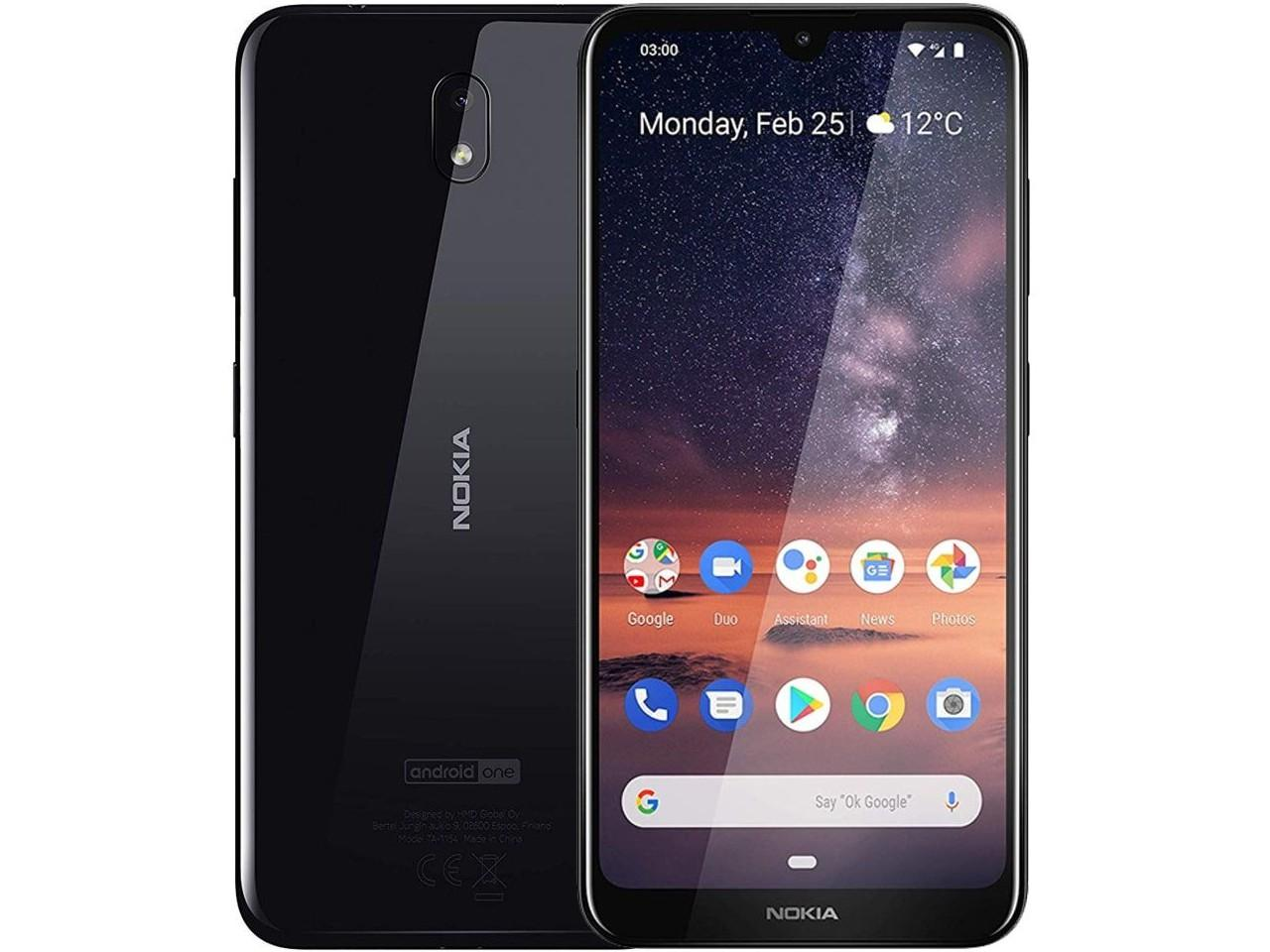 NOKIA 3.2, 3GB/32GB, Dual SIM, černý, CZ distribuce
