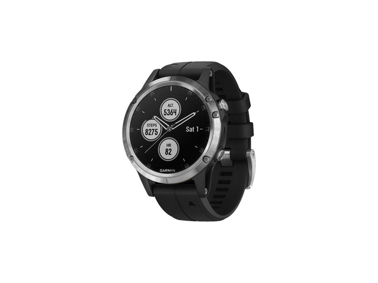 GARMIN Fenix5 Plus Silver/Black