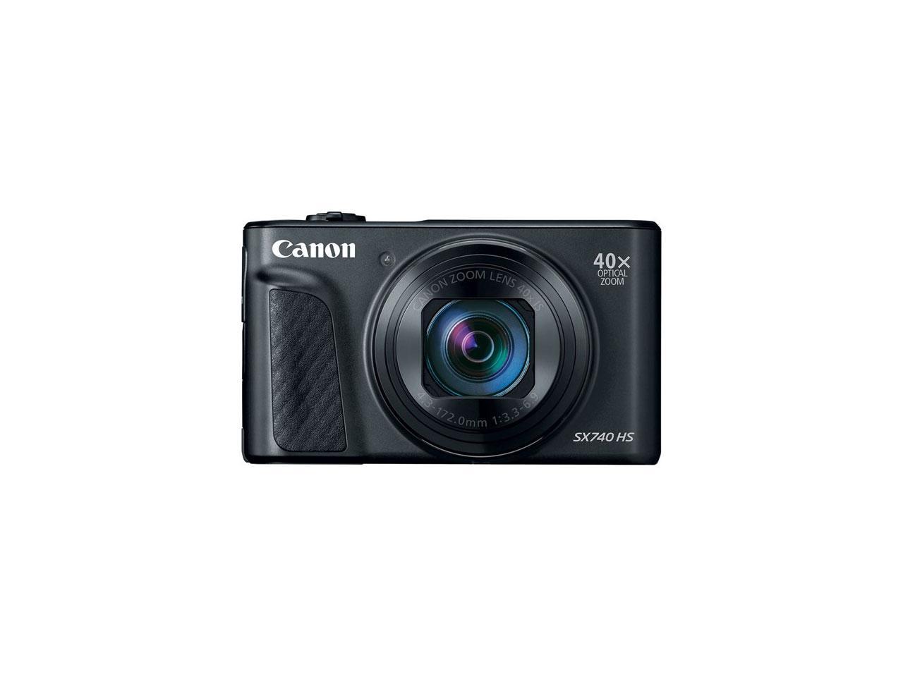 CANON PowerShot SX740 HS, černý