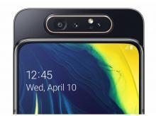 SAMSUNG Galaxy A80 (SM-A805F), 8GB/128GB, Dual SIM, černý, CZ distribuce