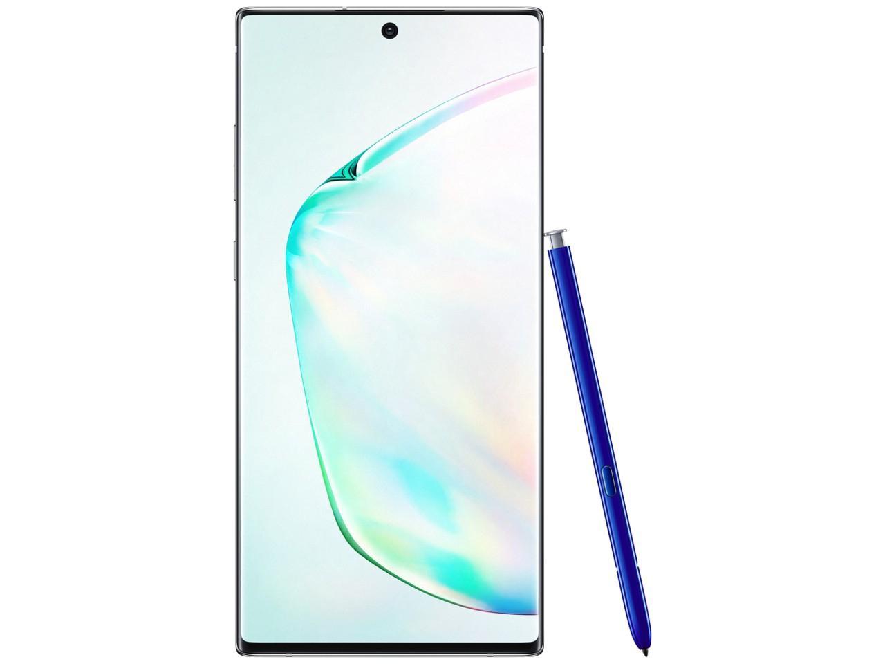 SAMSUNG Galaxy Note 10 (SM-N970F), 8GB/256GB, Dual SIM, stříbrný, CZ distribuce