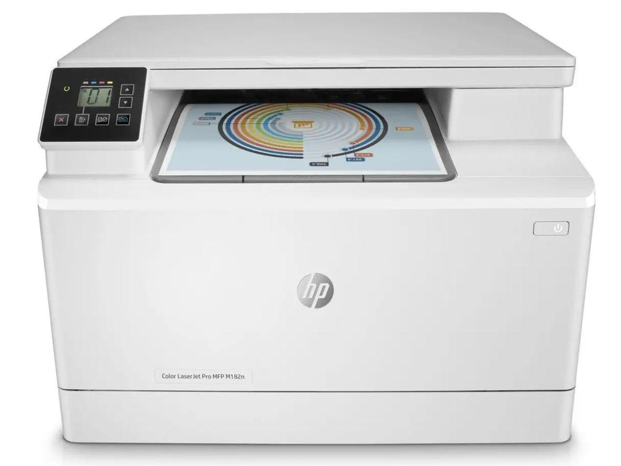 HP Color LaserJet Pro MFP M182n (7KW54A) + 200 Kč na dárky nebo další nákup   CHAT on-line podpora PO-PÁ 8-22.00!!