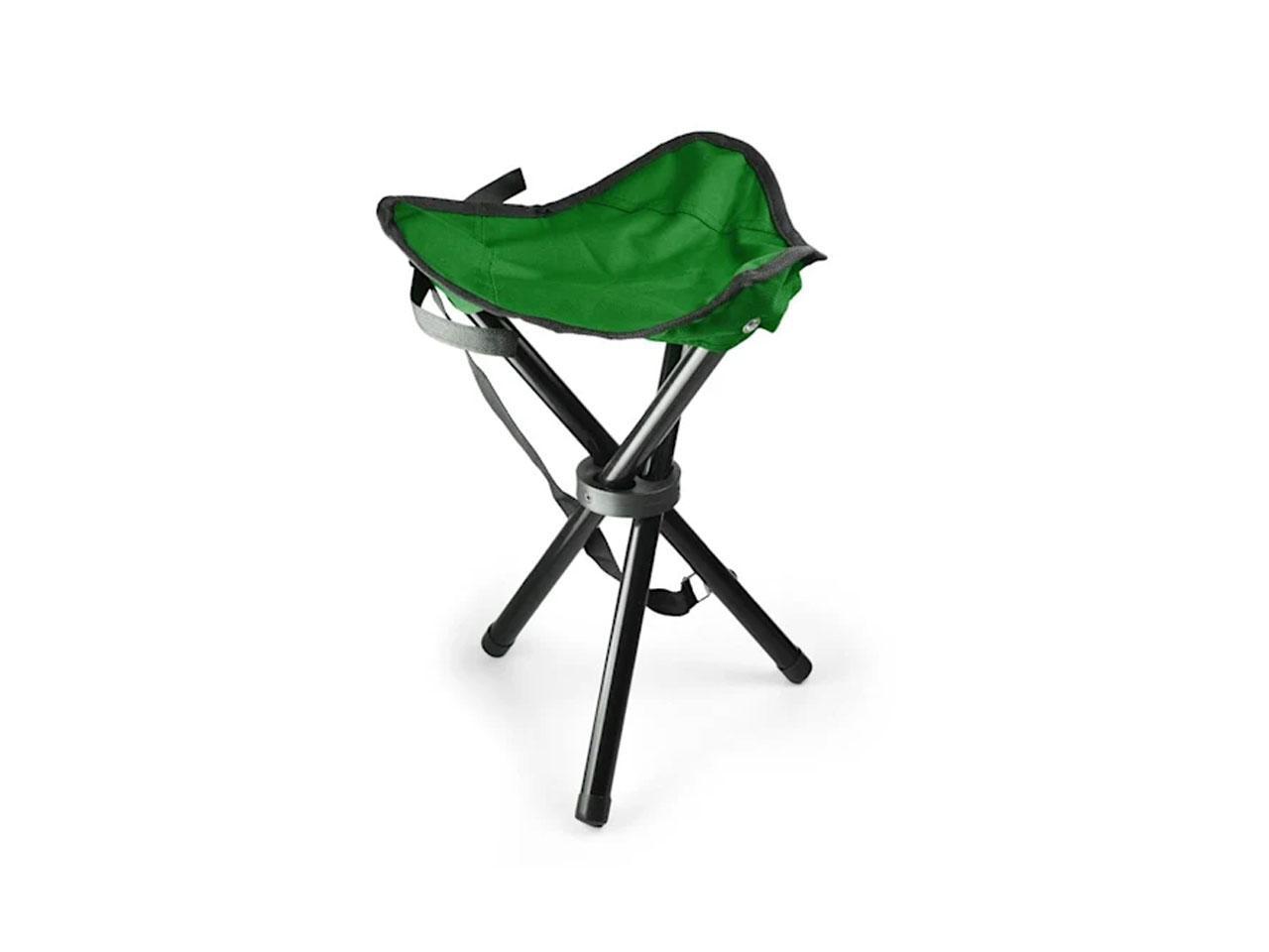 DURAMAXX Přenosná kempovací židle, zeleno-černá + záruka 3 roky!