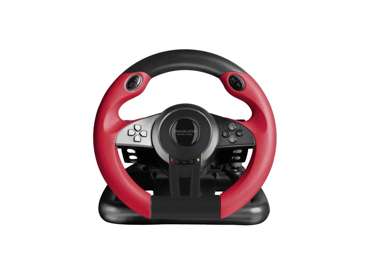 SPEEDLINK Trailblazer Racing Wheel pro PC, PS4/Xbox One/PS3 + 100 Kč na dárky nebo další nákup | CHAT on-line podpora PO-PÁ 8-22.00!!
