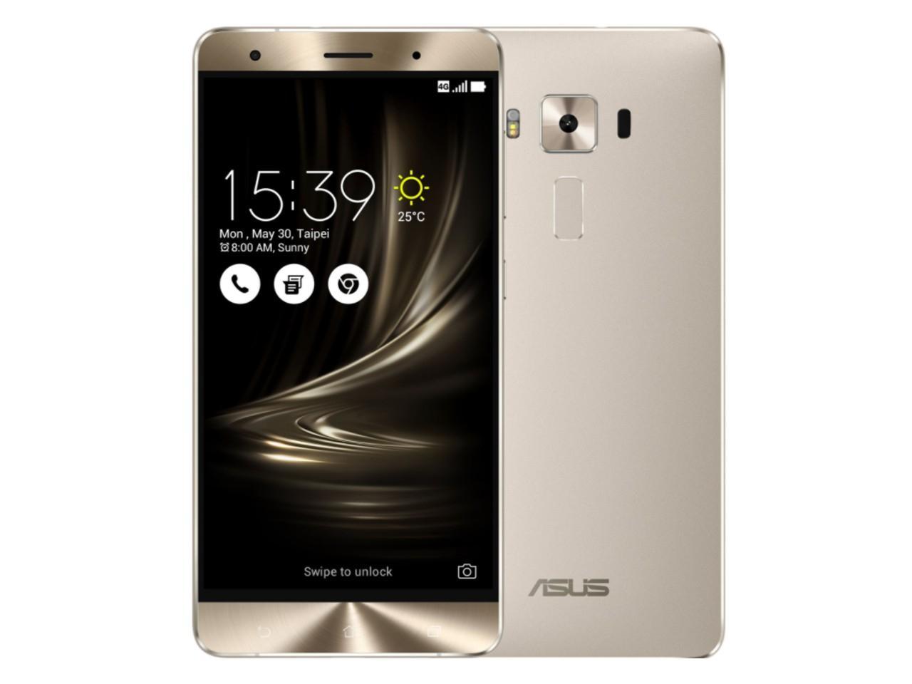 ASUS ZenFone 3 Deluxe (ZS570KL), 6GB/64GB, Dual SIM, stříbrný, CZ distribuce + 500 Kč na dárky nebo další nákup | CHAT on-line podpora PO-PÁ 8-22.00!!