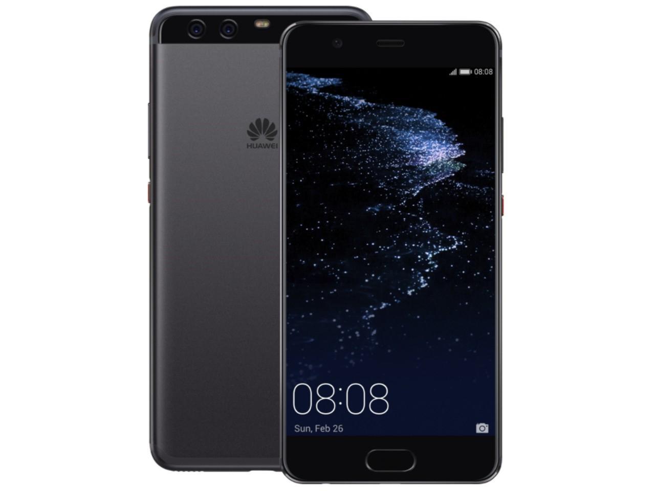 HUAWEI P10 Plus, 6GB/128GB, Dual SIM, černý, CZ distribuce