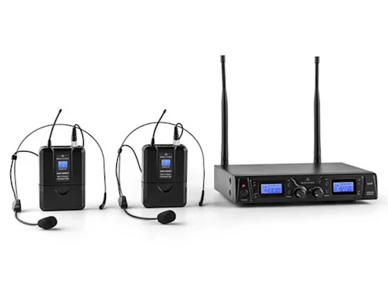 Bezdrátový mikrofonní set MALONE Duett Pro V2 + záruka 3 roky!